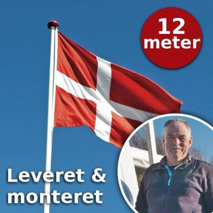 Thyholm Flagstænger leverer og monterer flagstænger